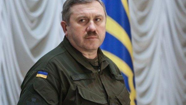 Командующий Национальной гвардии Украины Юрий Аллеров