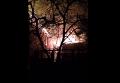 Последствия фейерверка: в Одессе загорелись четыре дома. Видео