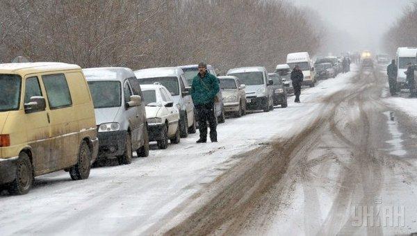 Контрольно-пропускной пункт в Донбассе. Архивное фото