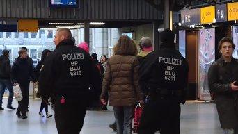Полиция Мюнхена получила сведения о запланированном теракте на вокзалах. Видео