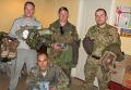 Украинский военный Назар Голюк, погибший под Горловкой (на фото - крайний справа)