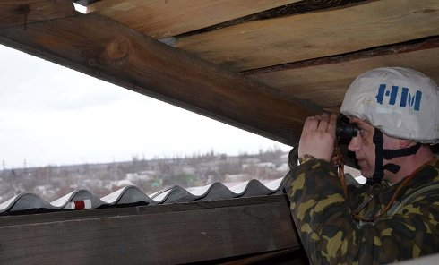 Украинский военный. Архивное фото