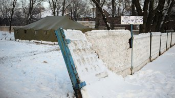Пункты обогрева в Донбассе