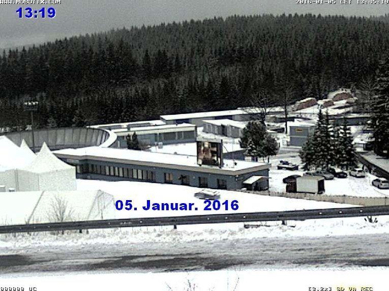 В Оберхофе снегопад сорвал Кубок по биатлону