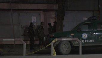Взрыв в дипломатическом квартале Кабула. Видео