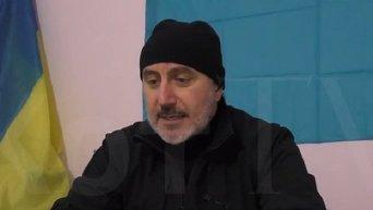 Ленур Ислямов комментирует блокаду Крыма