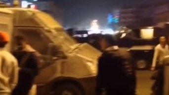 Нападение на отель в Хургаде. Видео