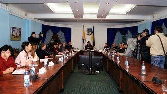 Ночное совещание Саакашвили по ликвидации последствий непогоды