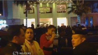 На месте атаки на отель в Египте