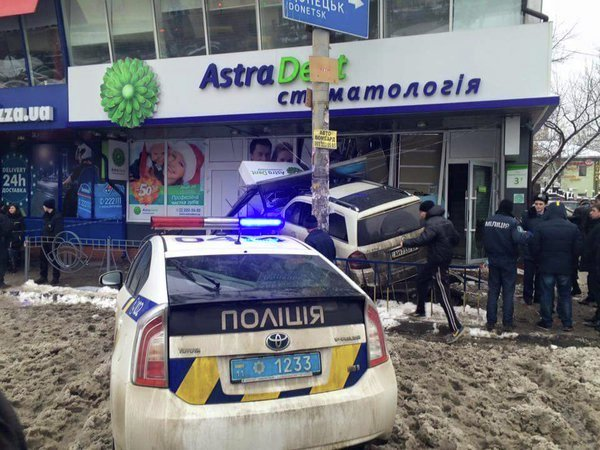 Смертельное ДТП возле станции метро Левобережная в Киеве