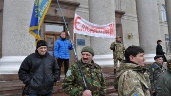 Митинг в Кировограде в поддержку проукраинского названия