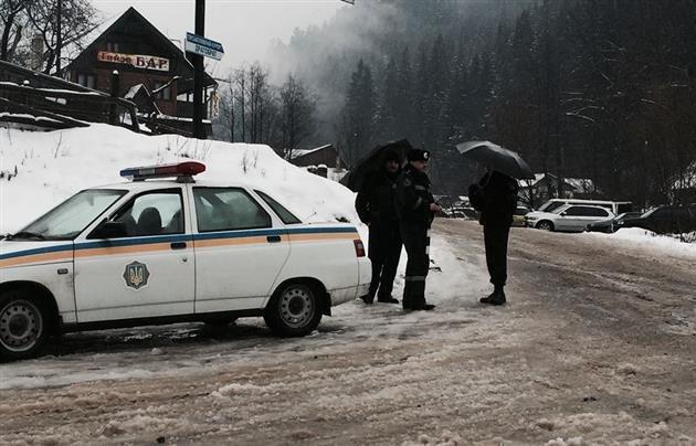 Вооруженный конфликт на Закарпатье с участием Правого сектора