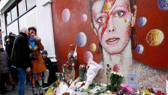 Реакция поклонников певца Дэвида Боуи на его смерть