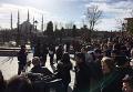 На месте взрыва в центре Стамбула 12 января 2016 года