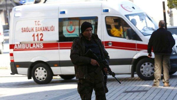 В турецкой столице произошёл мощный взрыв