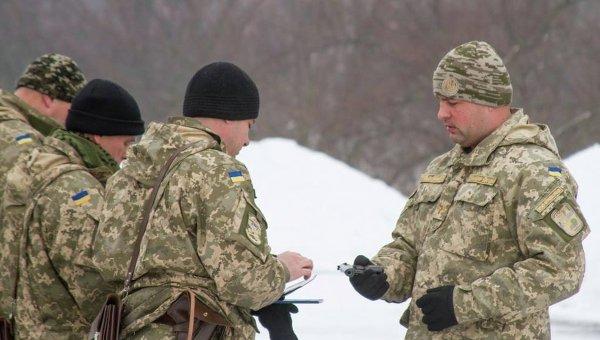 Военнослужащие ВСУ. Архивное фото