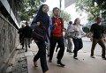 На месте взрыва и перестрелки в Джакарте