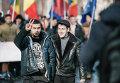 Акция протеста оппозиции в Молдавии