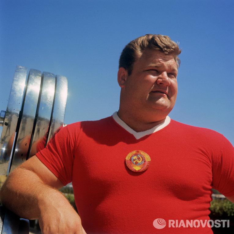 Двукратный олимпийский чемпион Леонид Жаботинский