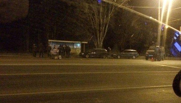 ДТП в Днепропетровске, в котором погибла одна студента