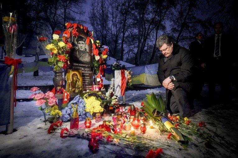 Петр Порошенко. Итоги года в фотографиях