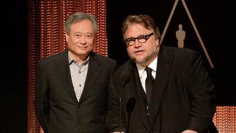 Режиссеры Энг Ли и Гильермо Дель Торо объявляют номинантов на Оскар-2016