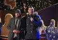 Виталий Кличко посетил Софийскую площадь и показал столичный Рождественский городок организатору новогодней ярмарки в Берлине Томми Эрбе