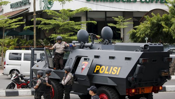 Вправительственном помещении Индонезии произошел взрыв