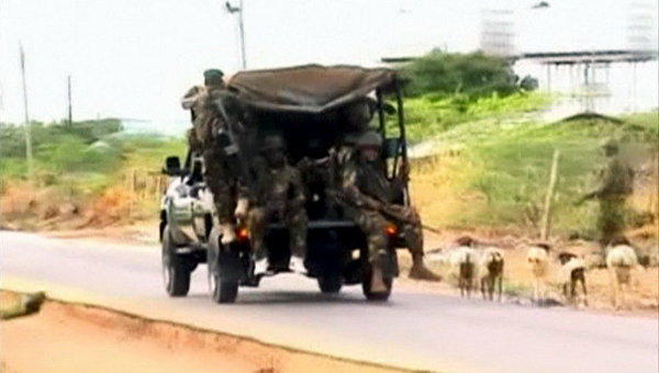 Военные в Сомали. Архивное фото