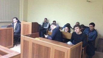 Арест мажора сбившего на джипе пожилую женщину у метро Левобережная