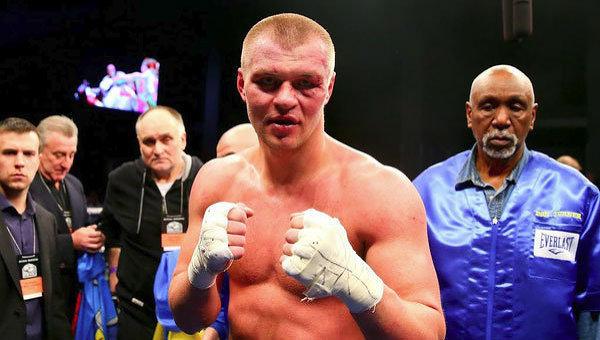 Украинский боксер Глазков несмог завоевать пояс чемпиона IBF всупертяжелом весе