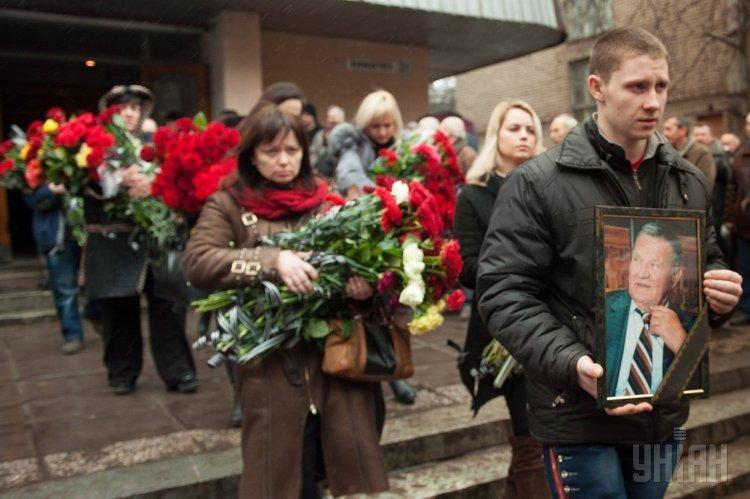 В Запорожье похоронили Леонида Жаботинского