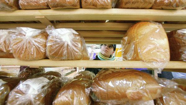 Продажа хлеба. Архивное фото