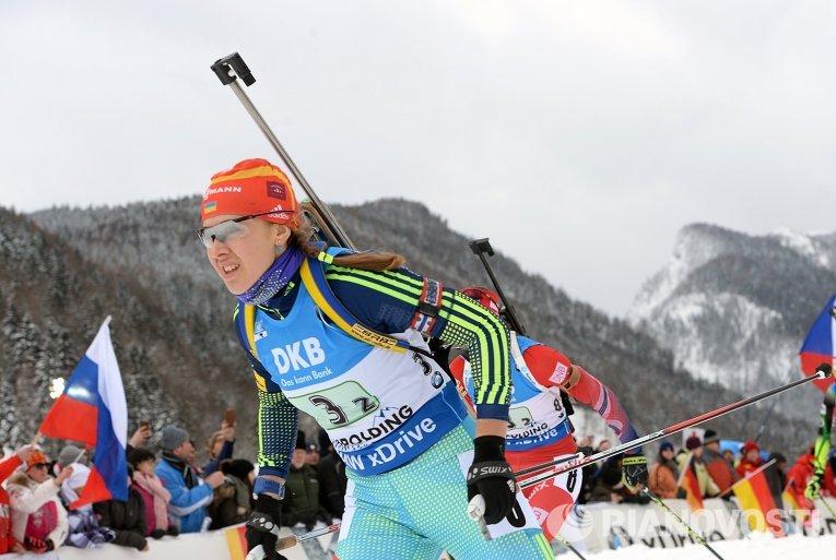 V этап Кубка мира по биатлону. Юлия Джима
