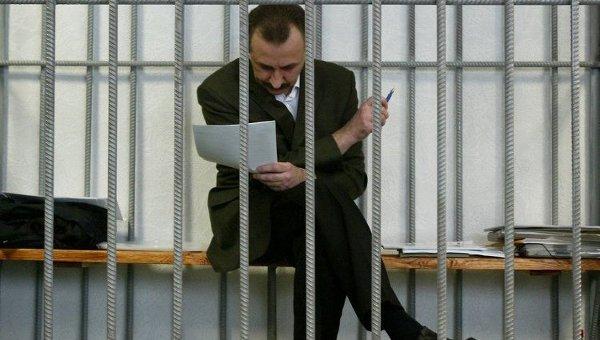 Судья Игорь Зварич в зале суда. Архивное фото