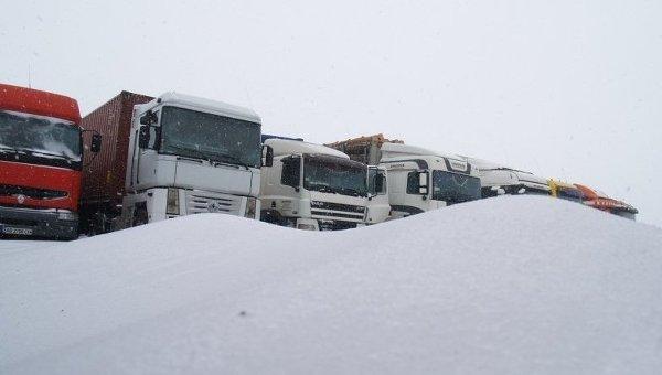 Ситуация на трассе Одесса-Киев