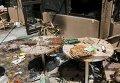 Последствия нападения террористов в Уагадугу в Буркина-Фасо.