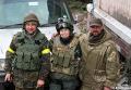 Елена Билозерская и боец с позывным Семен (справа), которые в январе 2016 года погиб в районе донецкого аэропорта