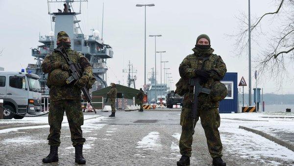 Солдаты немецкой армии Бундесвера