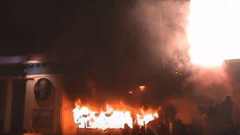 Бои на Грушевского 19 января 2014 года