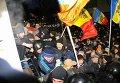 Штурм здания парламента в Молдавии