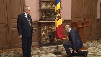 Присяга молдавского правительства во главе с Павлом Филипом. Видео