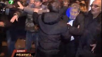 Беспорядки в Кишиневе. Видео