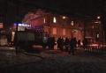 Пожар в общежитии Днепропетровска: кадры с места ЧП. Видео