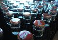 Работа завода Coca-Cola