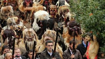 Религиозный фестиваль в Испании