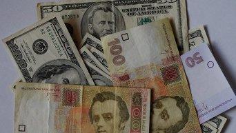 Гривна и доллары