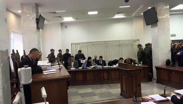 Заседание Апелляционного суда по рассмотрению апелляции на арест Геннадий Корбан. 22 января 2016 года