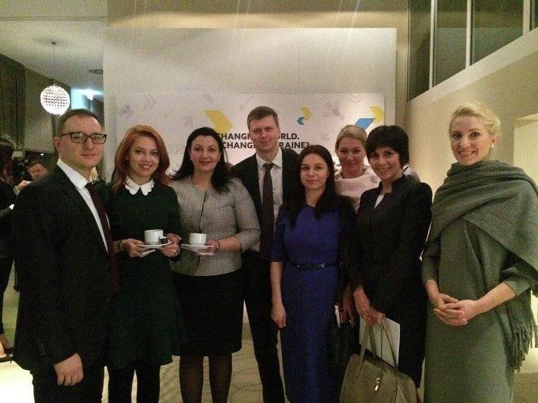 Украинский завтрак на форуме в Давосе