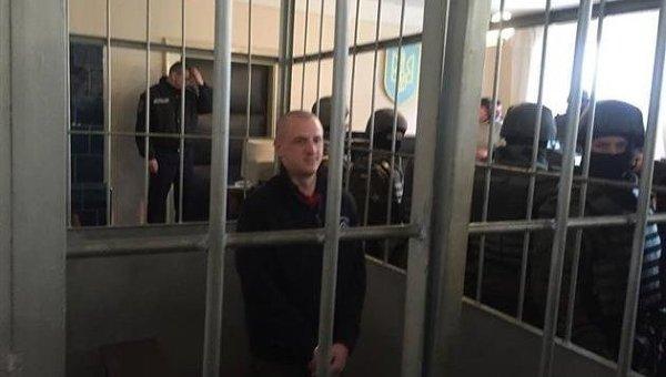 Боец Правого сектора Василий Василинюк, подозреваемый по делу о драке в Драгобрате